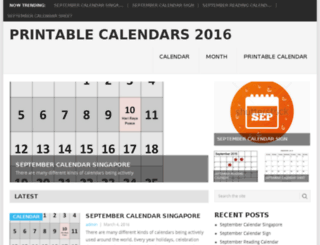 freeprintablecalendars16.com screenshot
