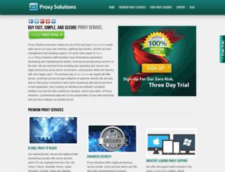 freeproxylists.com screenshot