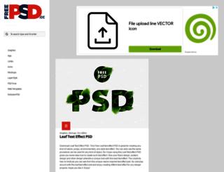 freepsd.cc screenshot