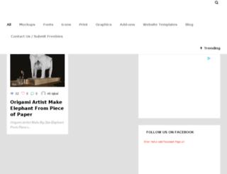 freepsdbies.com screenshot