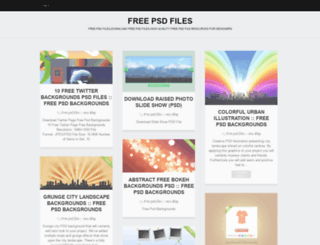 freepsdfiles.wordpress.com screenshot