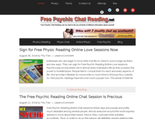 freepsychicchatreading.net screenshot
