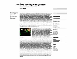 freeracecargames.wordpress.com screenshot