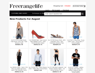 freerangelife.com.au screenshot