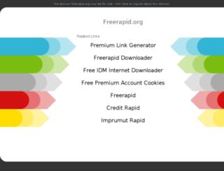 freerapid.org screenshot