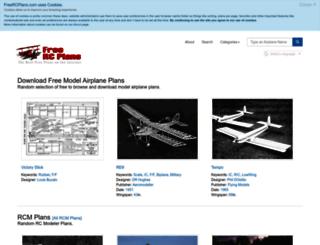 freercplans.com screenshot