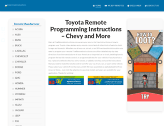 freeremoteinstructions.com screenshot