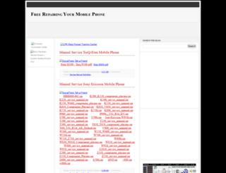 freerepairmobile.blogspot.com screenshot