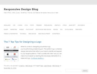freeresponsivedesign.com screenshot