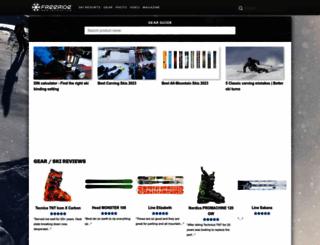 freeride.com screenshot