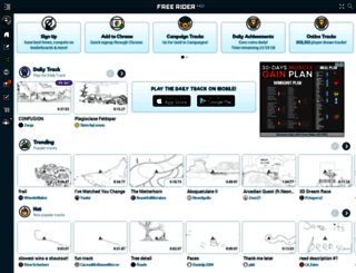 freeriderhd.com screenshot
