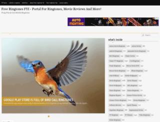 freeringtonesfyi.com screenshot