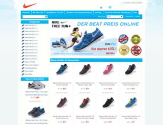 freerunnikeschweiz.com screenshot