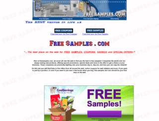 freesamples.com screenshot