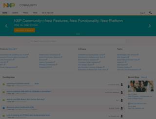 freescale.jiveon.com screenshot
