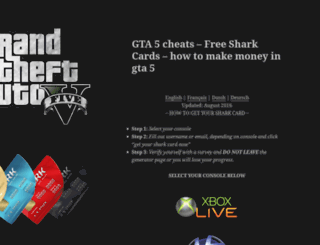 freesharkcards.com screenshot