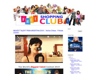 freeshoppingclubs.blogspot.com screenshot