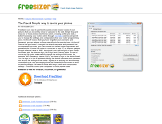 freesizer.com screenshot