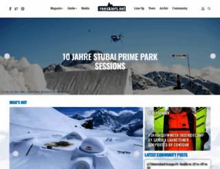 freeskiers.net screenshot