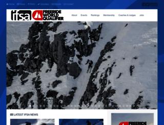 freeskiers.org screenshot