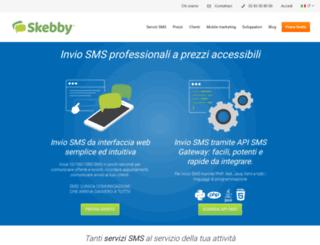 freesms.skebby.it screenshot
