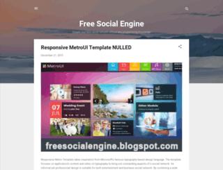 freesocialengine.blogspot.ch screenshot