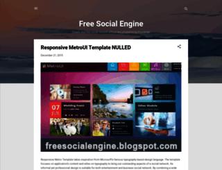 freesocialengine.blogspot.com screenshot