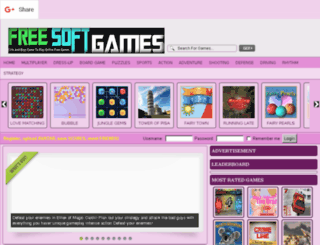 freesoftgames.com screenshot