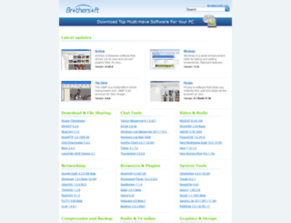 freesoftware-only.brothersoft.com screenshot