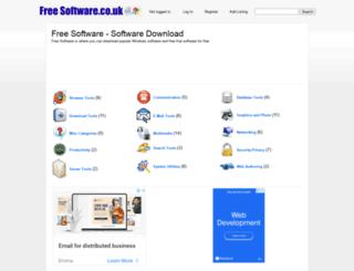 freesoftware.co.uk screenshot