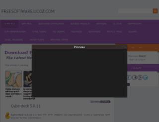 freesoftware.ucoz.com screenshot