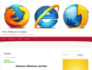 freesoftwaresgames.wordpress.com screenshot