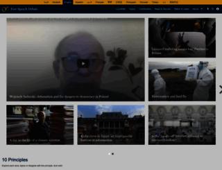 freespeechdebate.com screenshot