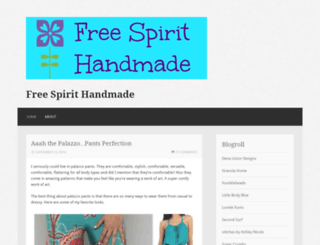 freespirithandmade.wordpress.com screenshot