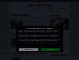 freespiritlife.cafeblog.hu screenshot