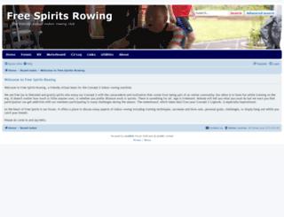 freespiritsrowing.com screenshot