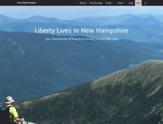 freestateproject.org screenshot