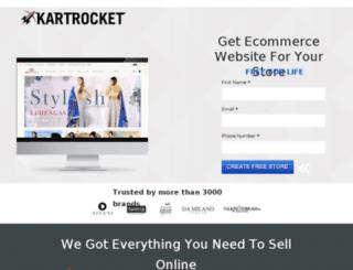 freestore.kartrocket.com screenshot