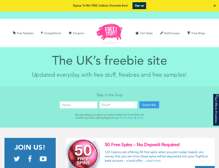 freestuff.co.uk screenshot
