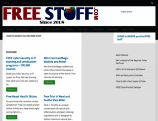 freestuff.com screenshot
