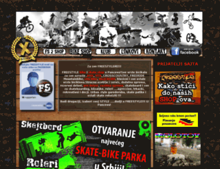 freestylepancevo.co.rs screenshot