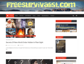 freesurvivalist.com screenshot