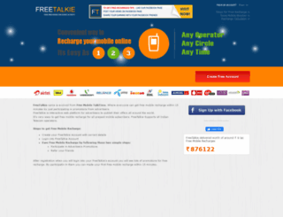 freetalkie.com screenshot