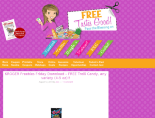 freetastesgood.aghosted.com screenshot