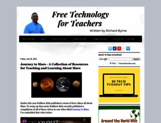 freetech4teachers.com screenshot