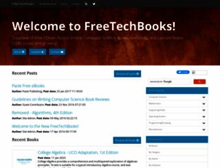 freetechbooks.com screenshot