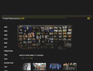 freetelevisionlive.com screenshot