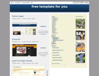 freetemplateforyou.blogspot.com screenshot