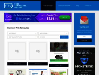 freetemplatesonline.com screenshot