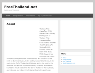 freethailand.net screenshot